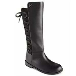 Michael Kors Emma Venon Ribboned Riding Boots